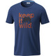 Columbia Miller Valley t-shirt Heren blauw